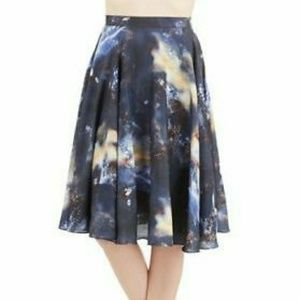 Bea&dot for modcloth full swing galaxy skirt